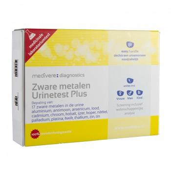 Zware Metalen urinetest Basis